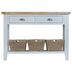 Manor House Grey Large Console Table