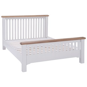 Denby 4ft 6 Double High End Bed
