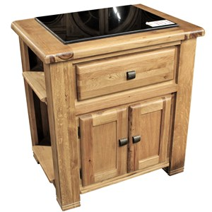 Oak Kitchen Island Granite Top