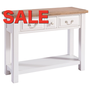Denby Grey Console Table