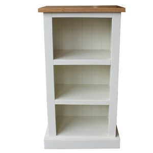 OakTop painted Bookcase Fixed Shelves