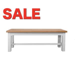 Denby Grey Bench
