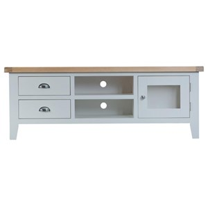Manor House Grey large TV Unit