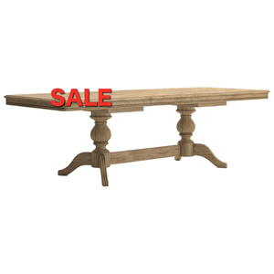 French Oak Large Extending Table