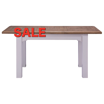 Denby Grey 1.2 Extending Table