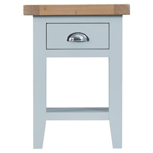 Manor House Grey Side Table