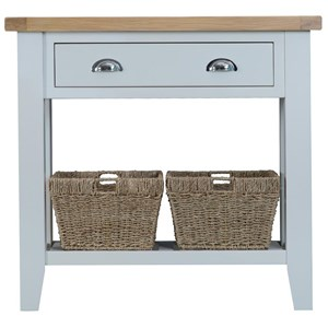 Manor House Grey Console Table