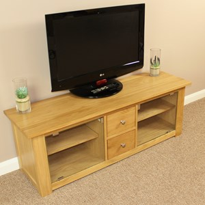 Oak Tv Entertainment Unit
