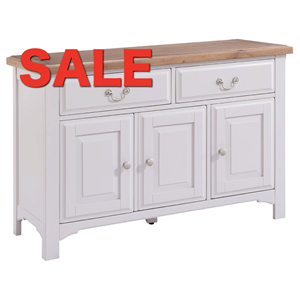 Denby Grey Large Sideboard