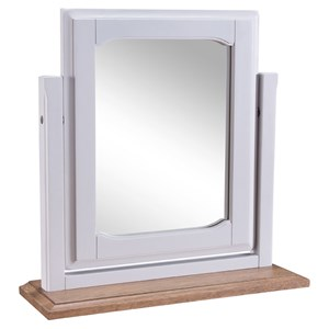 Denby Grey Vanity mirror