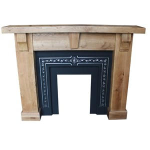 Oak Fire surround Cast Insert