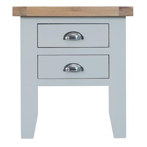 Manor House Grey Lamp Table