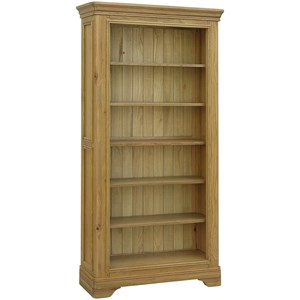 French oak bookcase