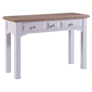 Denby Grey 3 Drawer dressing Table