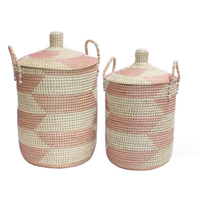 Ali Baba Laundry Baskets Storage Set Of Two