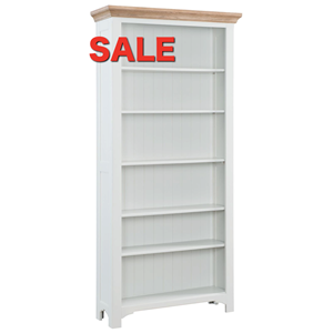 Denby Grey Tall Bookcase