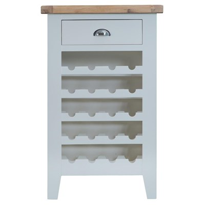 Manor House Grey Wine Cabinet