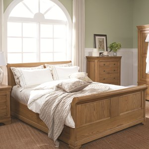 French oak bedroom range
