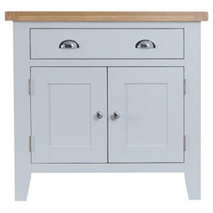 Manor House Grey 2 Door 2 Drawer Sideboard