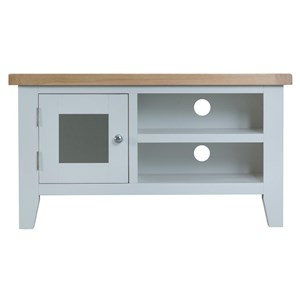 Manor House Grey Standard Tv Unit