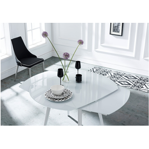 Anderson Twist Extending Dining Table - White