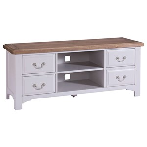 Denby Grey Painted TV Unit