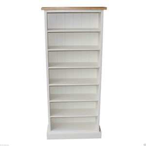 Oak Top Painted CD Storage 280