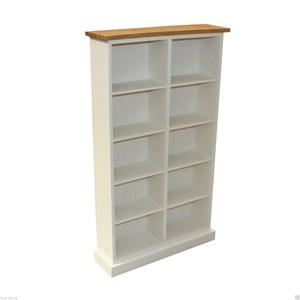 Oak Top Painted DVD Storage 190